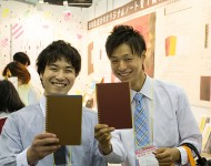 活版印刷_2014中小企業展インテックス大阪_笑顔6