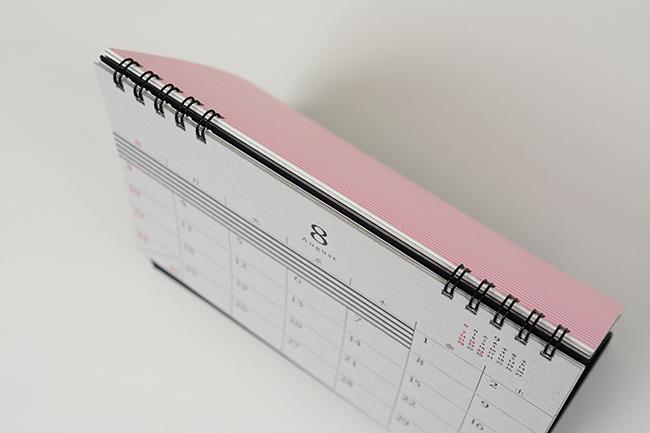 活版印刷カレンダー_上