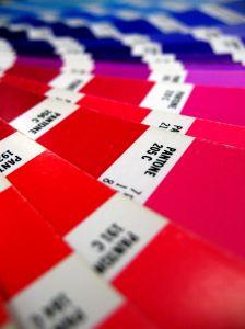 pantoneカラーガイド