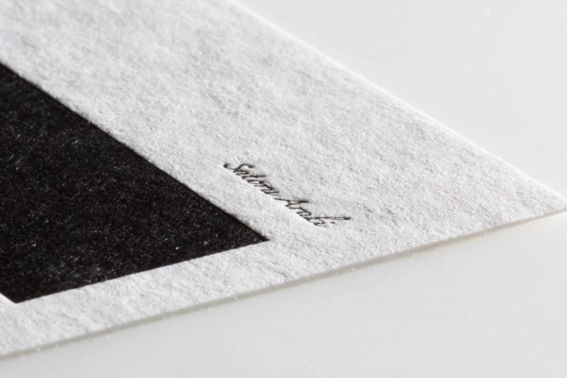 活版印刷フリッター名刺