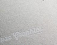 白インキ活版印刷名刺