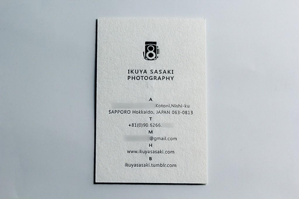羊毛紙名刺