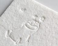 羊毛紙_活版印刷