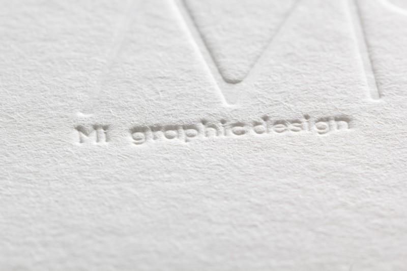空押し_活版印刷名刺