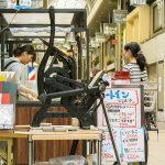 九条キララ商店街活版印刷イベント