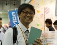 活版印刷_2014中小企業展インテックス大阪_笑顔1
