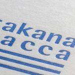 活版印刷ショップカード 『sakana bacca』様