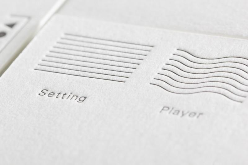 活版印刷の罫線