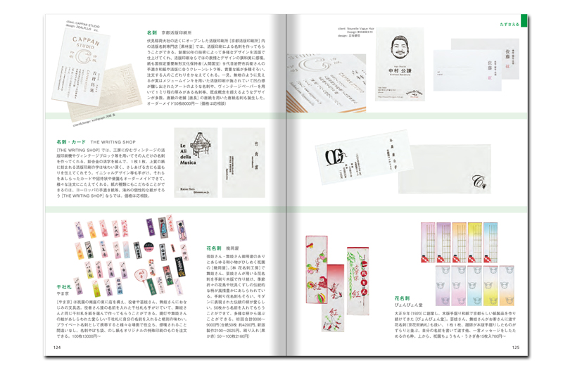 京都文具大全_活版名刺
