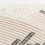 変形サイズの活版印刷ショップカード