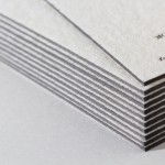 WILD(輸入紙 竹尾)の活版印刷名刺