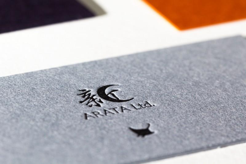 欧米サイズ_活版印刷名刺
