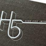 活版印刷名刺|グムンドカラーマット-FS NO.87
