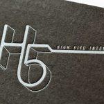 活版印刷名刺 グムンドカラーマット-FS NO.87