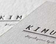 ステーキハウス_活版印刷ショップカード