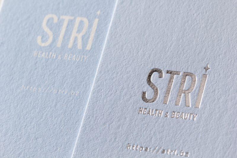 箔押し銀と活版印刷ベタ