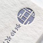 新バフン紙きぬ、活版印刷2色印刷(特色指定)