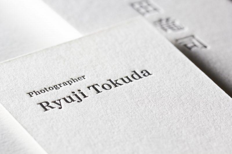 活版印刷名刺_特Aクッション