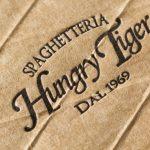 贈答BOX用の帯を活版印刷|イタリア料理 Hungry Tiger OSAKA