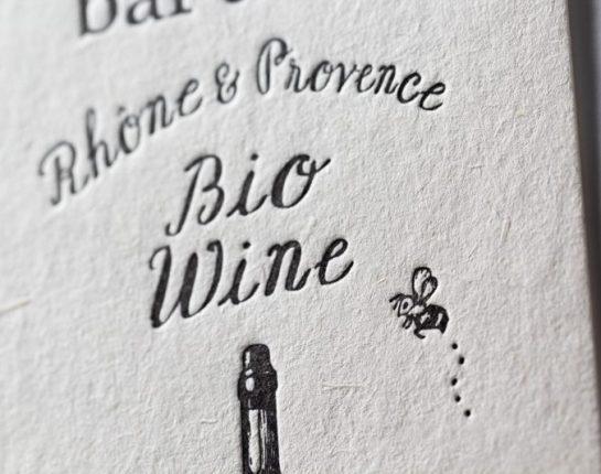 ワイン輸入_活版印刷_ショップカード