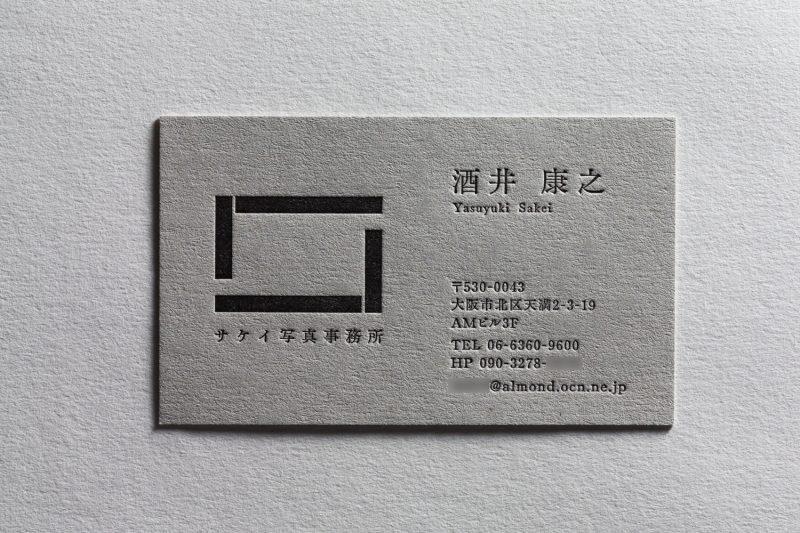 カメラマン_活版名刺