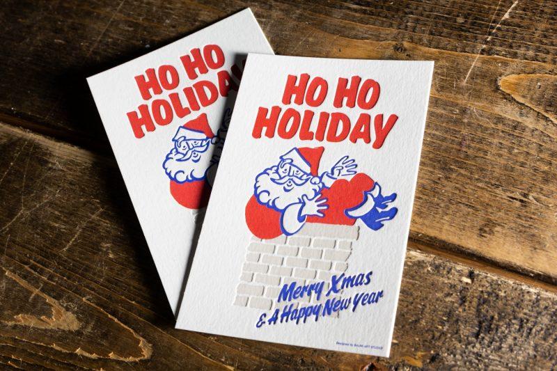 クリスマスカード_活版印刷