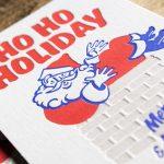 クリスマスカード NTスフール2枚合紙
