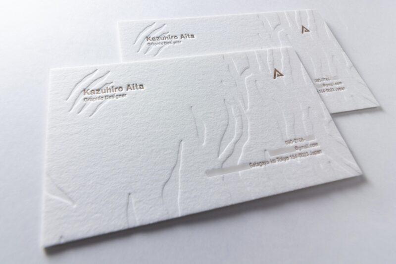 名刺_活版印刷厚物