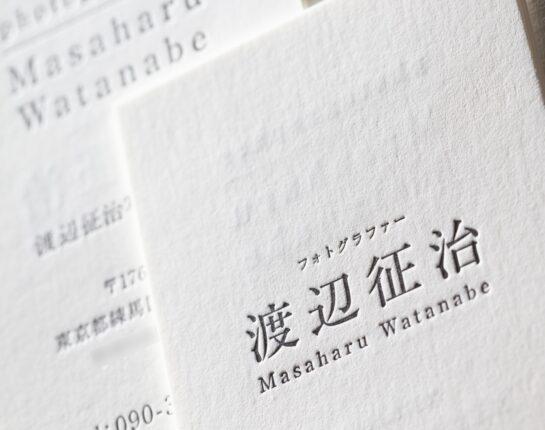 フォトグラファー_活版名刺