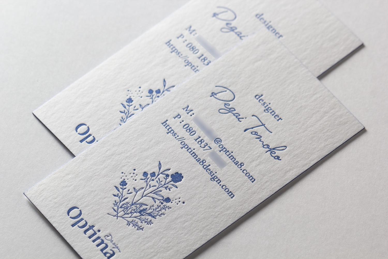 特色印刷_活版印刷名刺