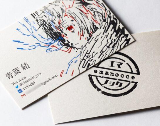 名刺_カラー活版印刷