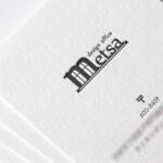 クッション紙(特Aクッション0.6)名刺