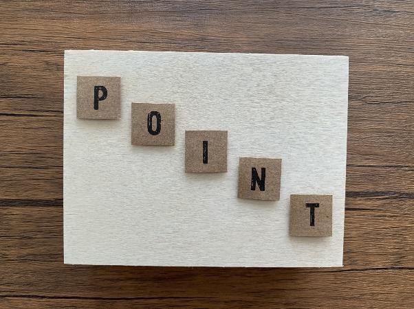 「POINT」の文字