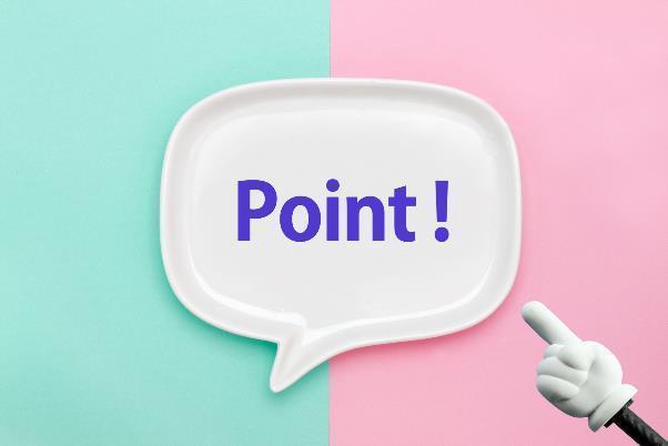 「Point!」の文字